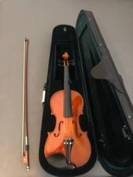 Título do anúncio: Violino Michael Novo completo