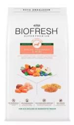 Título do anúncio: Ração Biofresh 15 kgs Adulto.