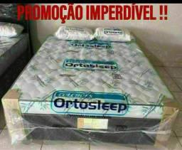 Título do anúncio: ORTOESLEP ORTOPÉDICA CASAL ESPUMA SELADA
