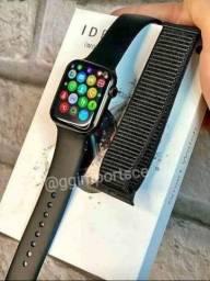 Smartwatch IWO12 Lite Faz Ligação 44mm 02 Pulseiras