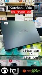 Notebook Vaio 256gb SSD i5 12gb RAM