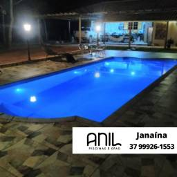 Título do anúncio: JA - Oferta especial para o verão - piscina de fibra 10 metros x 4 metros - Anil Piscinas