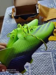 Chuteira Adidas Profissional 42 Crava silicone