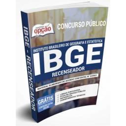 Concurso IBGE 2021 - Apostila - Recenseador -