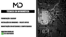 Título do anúncio: Técnico em Informática