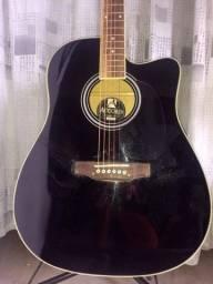 2 violões elétricos cordas de aço regulados por luthier!!!