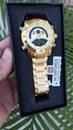 Relógio Naviforce (NF9181) Dourado