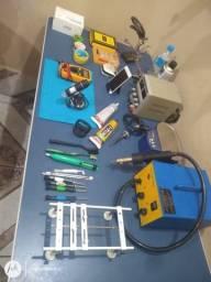Título do anúncio: Equipamentos para consertar celular