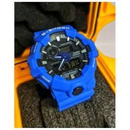 Título do anúncio: G-shock Ga-700 Blue automático - Linha Gold a prova d'agua novo
