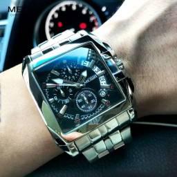 Título do anúncio: Relógio Megir Importado, original com visor quadrado