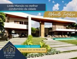 Mansão belíssima em construção no Alphaville Fortaleza