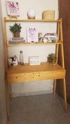 Título do anúncio: Escrivaninha Estante Pinus