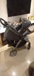 Título do anúncio: Carrinho de bebê Chicco bravo