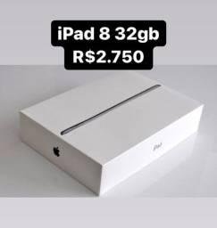 Título do anúncio: iPad 8 32g Novo // Loja Fisica Savassi