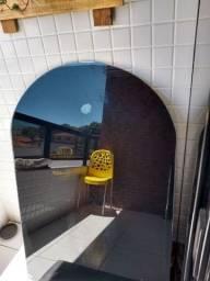 Título do anúncio: Mesa de vidro (usada)