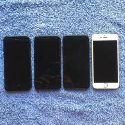 iPhones 7 de 32gb e 128gb