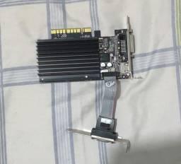 Placa de vídeo Geforce NVIDIA GT 710 2gb