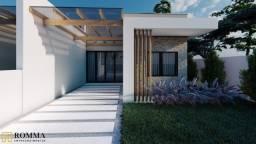 Casa Geminada de ótimo padrão, 95m², 3 quartos, 400m da praia, no Mariluz em Itapoá-SC