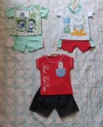 Título do anúncio: Conjunto infantil baby masculino