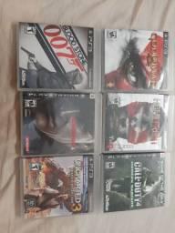 5 jogos PS3 por 70,0 ou 1 por 20,0