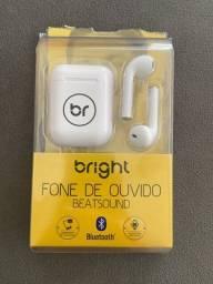 Título do anúncio: Fone de ouvido sem fio Bright (Bluetooth)