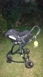 Maravilhoso 4x1 - Carrinho, bebê conforto, moises, carrinho moises