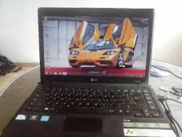 Notebook lg pentium 2.13gzh,hd500gb,3gb ddr3,hdmi,tela de led,carregador,nao tem mellhor