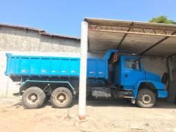 Caminhão basculante m.benz 1620 - ano 2002 - 2002