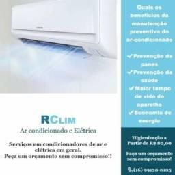 Rclim Ar Condicionado e Elétrica