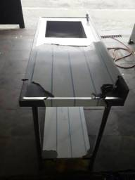 Mesa 1.90x60x90 em inox