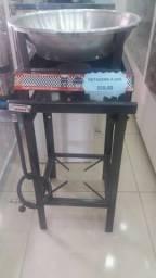 Fritadeira com fogão industrial valor promocional
