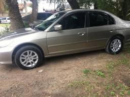 Honda civic lx impecável - 2005