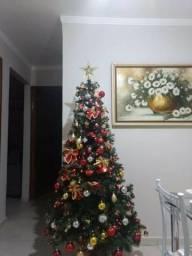 Árvore de Natal completa com pisca