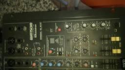 Mesa de som wattsom AMBW 12 canais