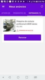 Maquina de costura m600 series
