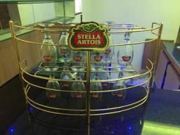 Stella Artois Suporte de Cálices + 20 Cálices