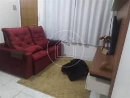 Apartamento à venda com 1 dormitórios em Jardim flamboyant, Cabo frio cod:866618