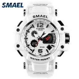 Relógio Smael Prova D'água Dual Time