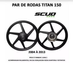 Roda de liga Live Titan 150 04/13 Fan 150 09/13 Ks Es Esi Tambor
