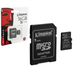 Cartão De Memória 16 gb Kingston Micro Sdhc