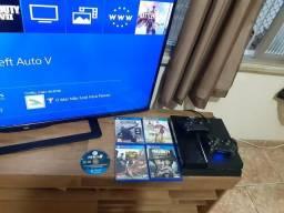 PS4 2 Controles + PSN Aceito Cartão