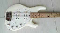 Baixo music man Sting Ray 5 HH série Gold made in usa