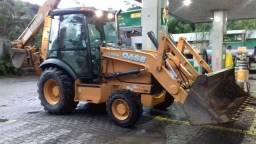 Retro retroescavadeira case 580n 580 n 580m 4x4 lb90 cat 416e caterpillar