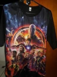Camisa Vingadores Guerra Infinita