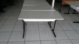 17.1 mesa em mdf branca, produto direto da fábrica, frete grátis