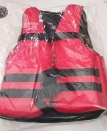 Colete Salva Vidas Jet Ski Caiaq Infantil (até 60kg) Vermelho