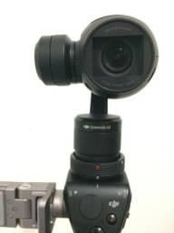 Estabilizador Câmera Dji Osmo 4K + Kit baterias microfone