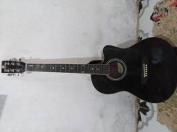 Violão Elétrico Harmonics, preto