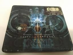 Kreator - Cause For Conflict (box De Metal - Edição Limitada