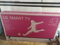 Smart TV 43 zera LG top. menor preço